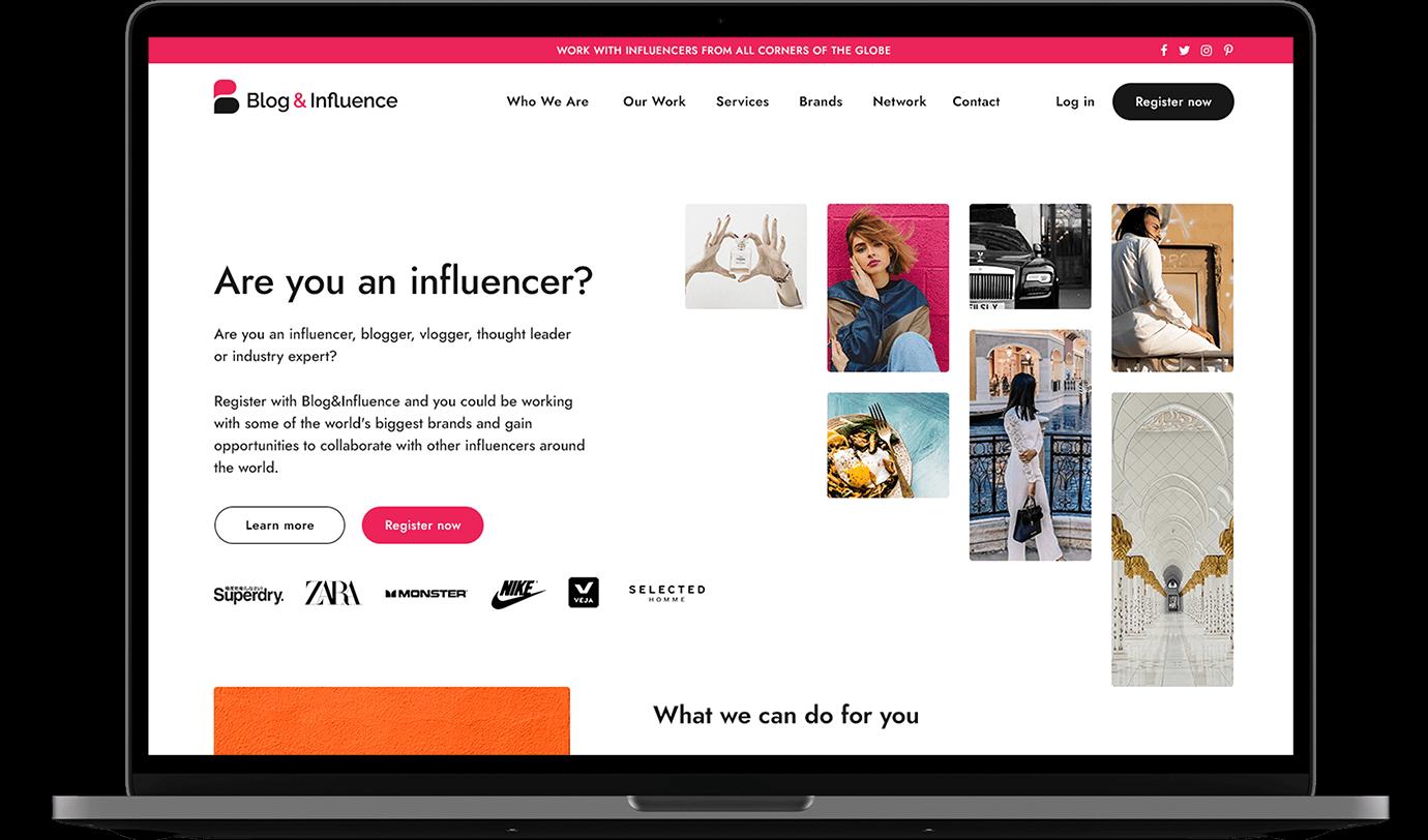Blog & Influence